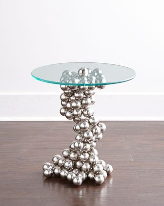 Raquel+Sphere+Side+Table+by+Global+Views+at+Horchow.