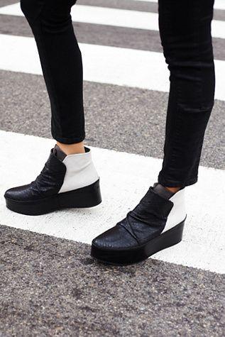 IXOS Womens Townsend Platform Ankle Boot