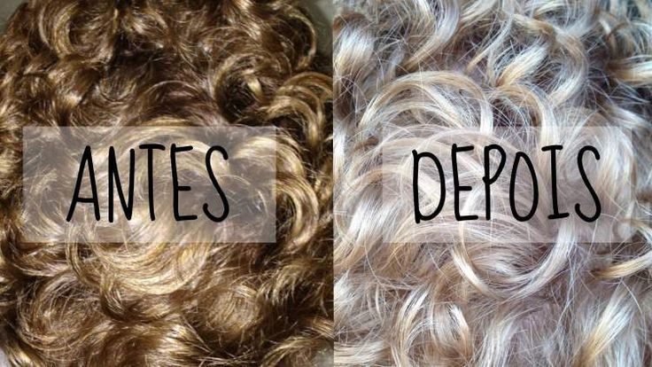 receitas caseiras para clarear os cabelos naturalmente