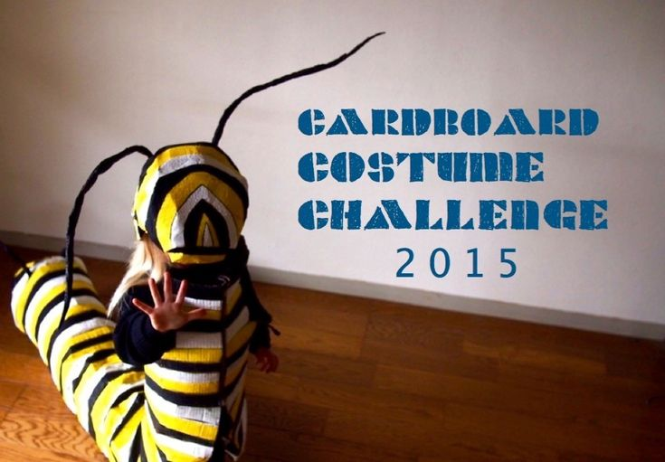 Cardboard Costume Challenge 2015 at www.thecardboardcollective.com