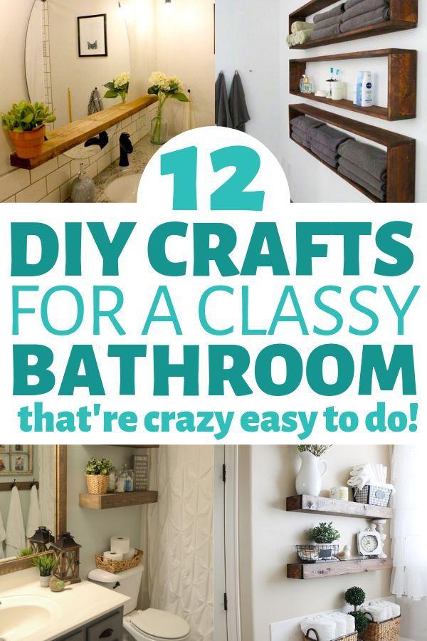 12 Diy Bathroom Decor Ideas On A Budget You Can T Afford To Miss Out On Diy Bathroom Decor Home Decor Hacks Cheap Home Decor