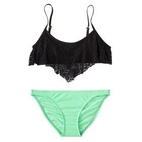 This is pretty much the bathing suit combo I've chosen for this summer lol.