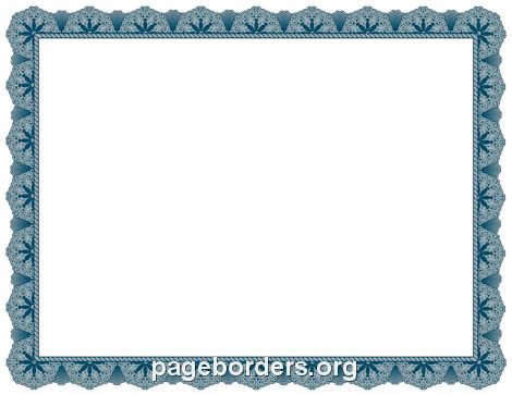 The 25+ best Certificate border ideas on Pinterest Paper borders - certificate borders for word