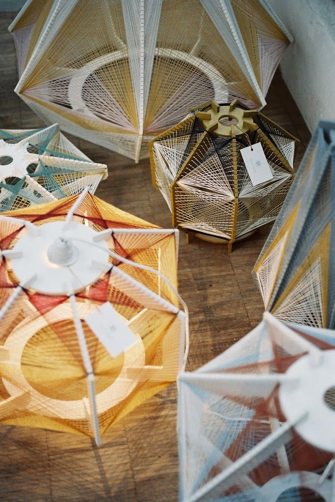 Les lampes Sputnik de Julie Lansom – Miluccia