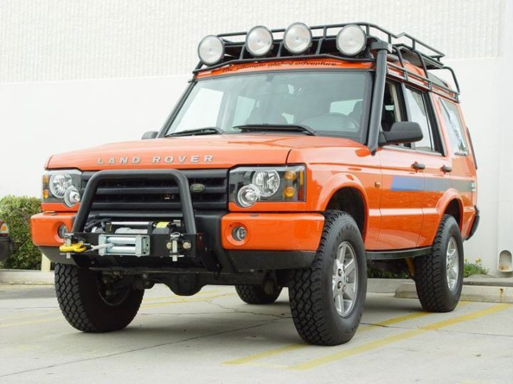 Kitted out Land Rover Discovery