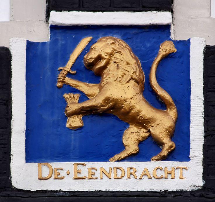 Gevelsteen DE EENDRACHT | by Vereniging Vrienden van Amsterdamse Gevelstenen