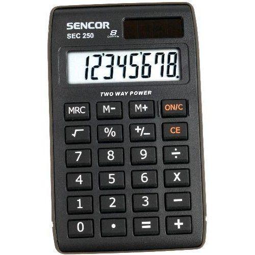 Sencor SEC 250 8 számjegyes zsebszámológép nagy kijelzővel Ft Ár 1,190