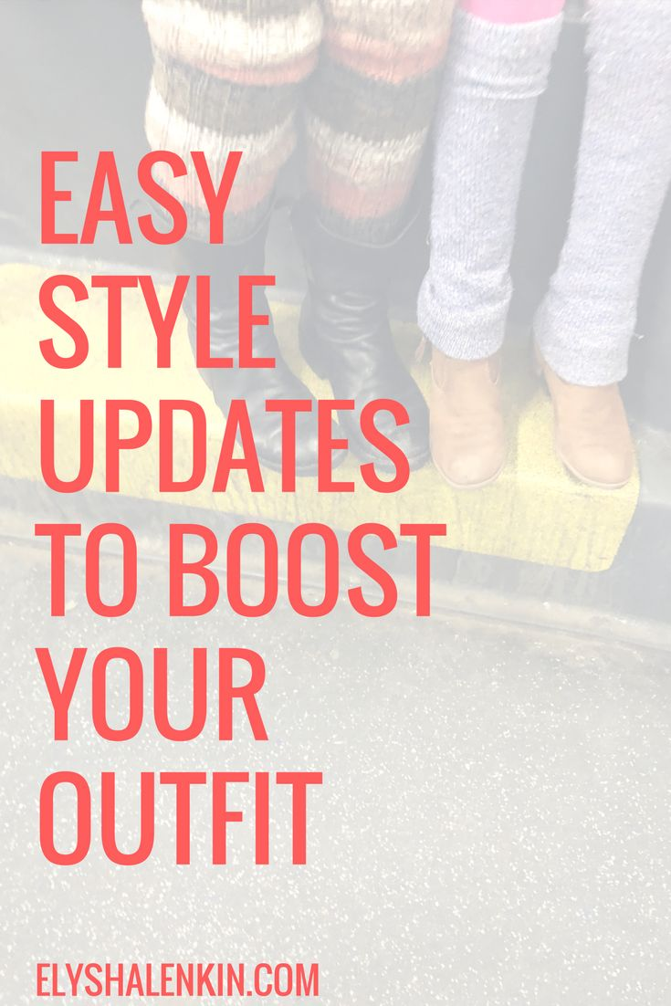 It's that time of year when we are in between seasons which makes getting dressed a bit confusing, and having some style hacks for extra inspiration can be a major help when pushing through those last days of inconsistent weather.