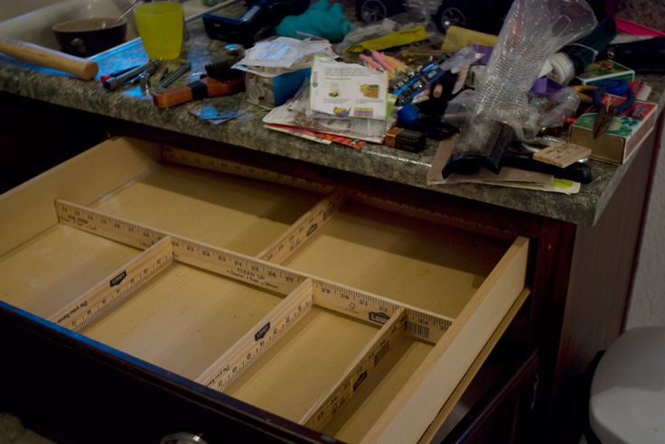 Diy Drawer Organizer No Tools Required I D Want To
