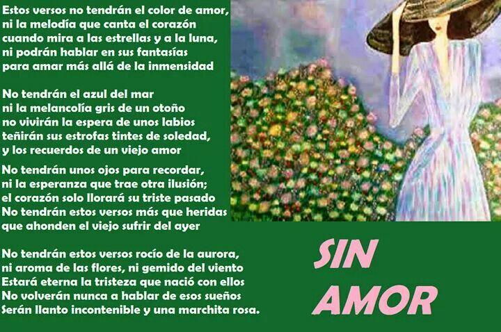 SIN AMOR