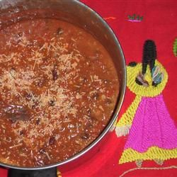 Texas Deer Chili Recipe. I just so happen to have a couple of pounds of ground deer meat : D