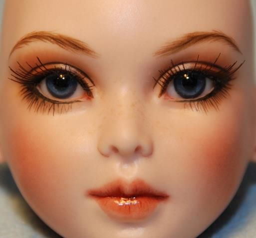 beautiful doll face