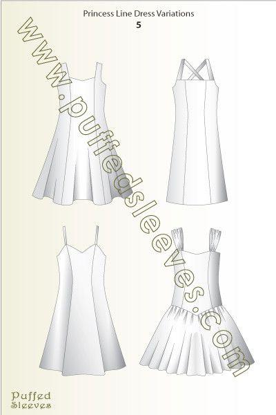 Sundresses based on princess dress