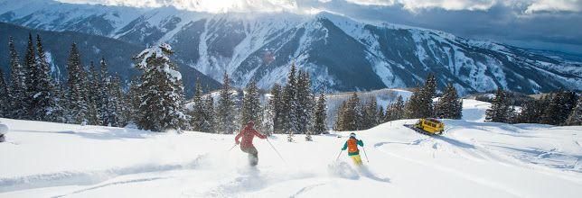 #ski and #snowboard in #Aspen #Colorado