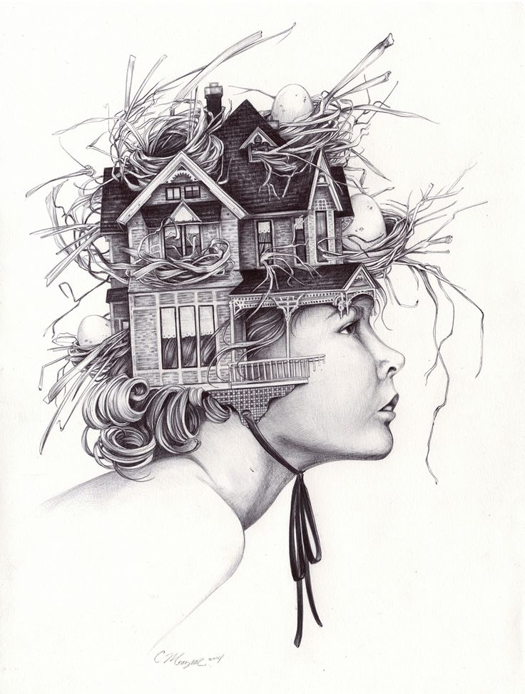 Drawings of Christina Mrozik - Talented artist Christina Mrozik from Michigan, USA has magical hands that will leave everyone stunned once they saw her outstanding drawing and ideas.