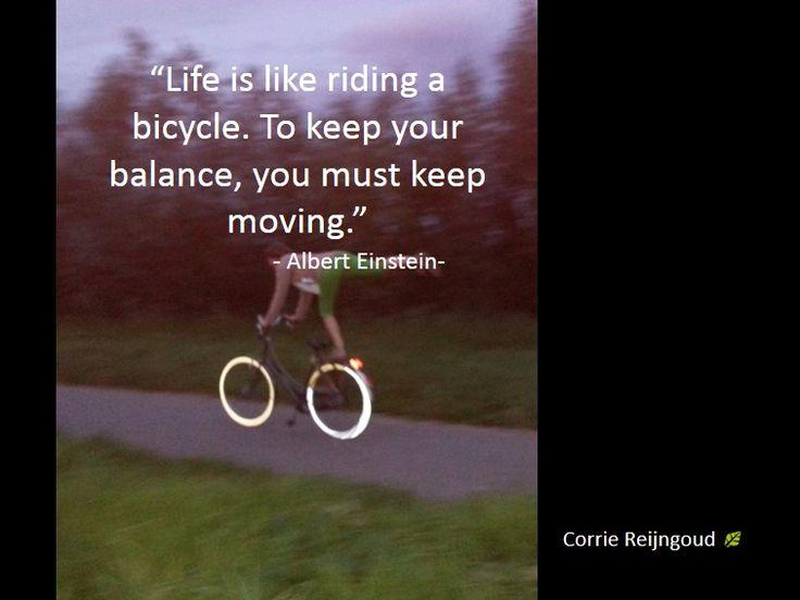 In beweging blijven dus, maar vooral stap voor stap.