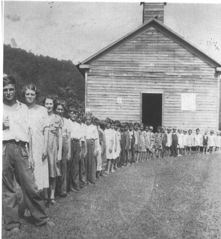 Sugar Creek School 1936jpg 720779 Clay County 15 best Thunder