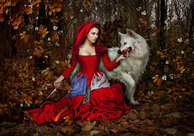 Little Red Riding Hood : Manuel de los Galane Awwwwwww