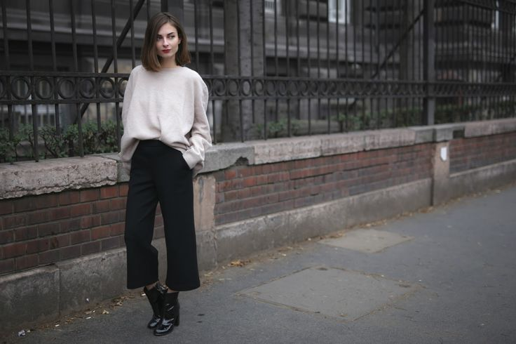 What Vero Wears: READY FOR WINTER WITH COS trouser and jumper - H&M shoes