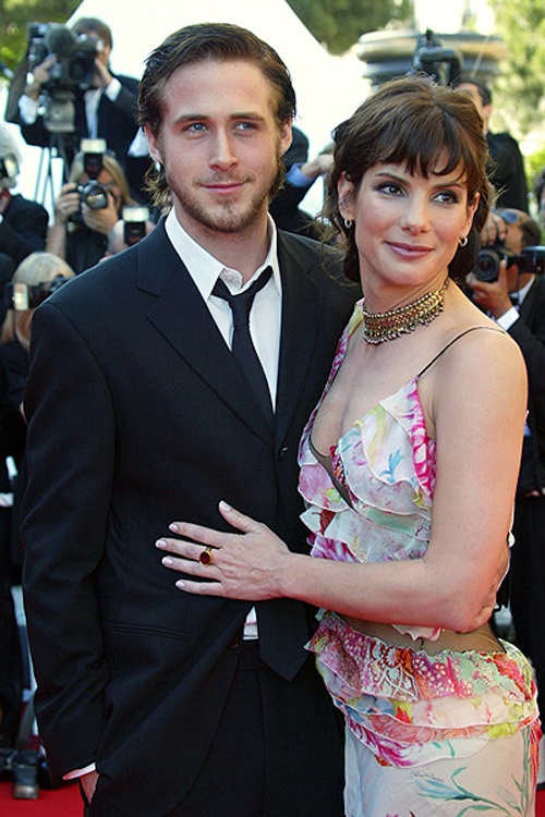 Ryan Gosling and Sandra Bullock. She was 16 years older.