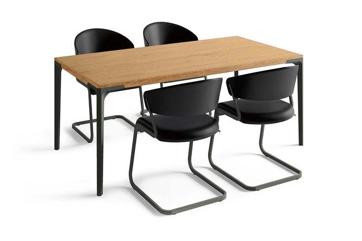 Hulsta Dining Black Edition Set M In 2020 Freischwinger Design Tischgruppe