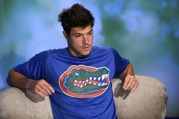 Zach in the diary room!