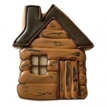 Log Cabin Cookie