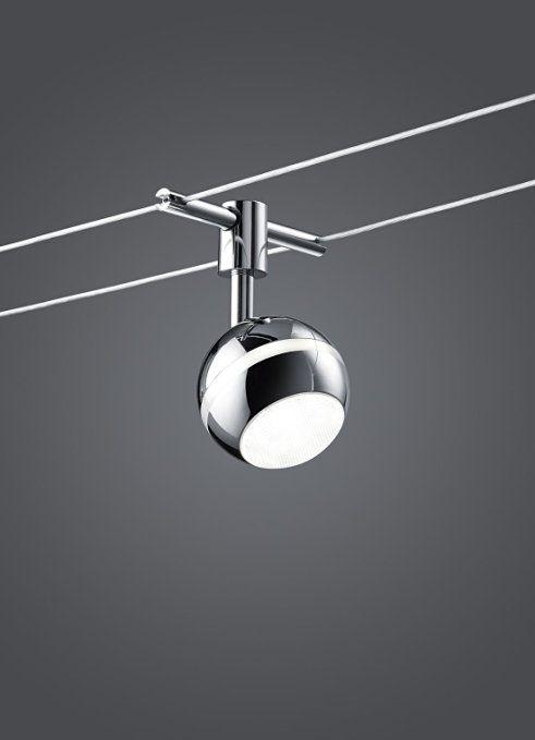 Trio Leuchten LED Rope System Basic, Titanium-Coloured 770010587 Baloubet: Amazon.co.uk: Lighting