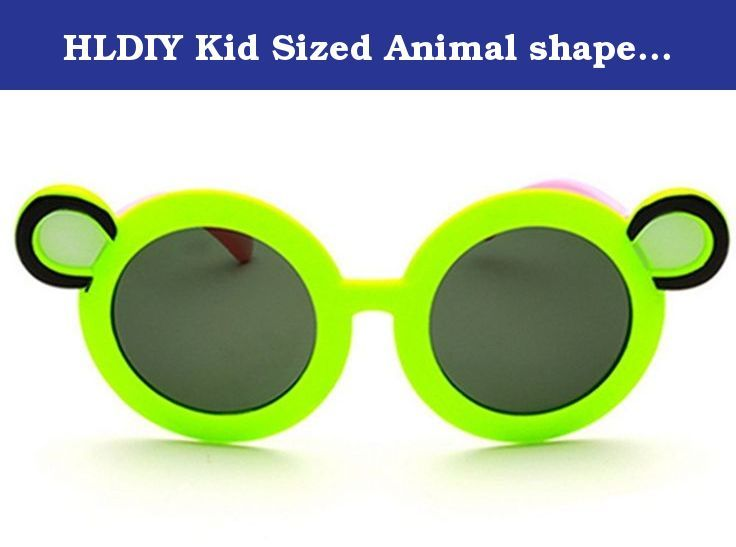 HLDIY Kid Sized Animal shape Frog Mirror Round Goggles Anti-UV Sunglasses. This glasses is designed for Kids outdoor activities. Your kids will love wearing these Sunglasses at beach parties, pool parties, and summer parties.