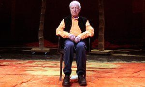 Peter Brook at the Bouffes du Nord in 2009.