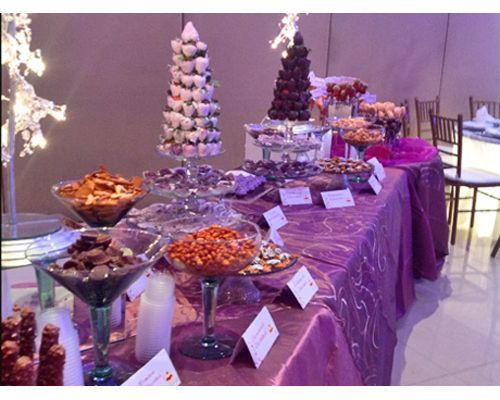 10 best images about mesa de postres on pinterest mesas for Fiestas elegantes decoracion