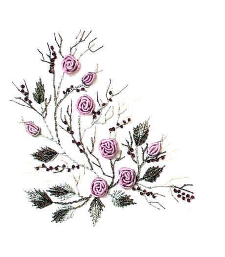 Image detail for -In this lesson you are going to make a bullion rose in which the ... embroidery for beginners www.fun2stitch.com