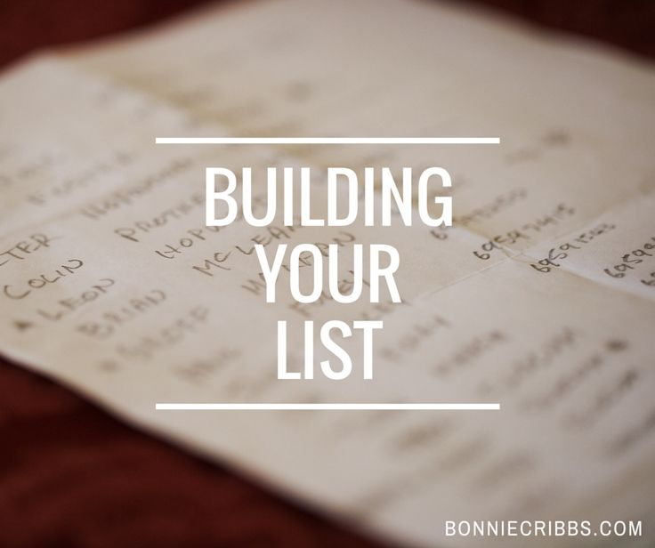 I know you're building your business using social media, but are you still building and adding to your list?  Today's post shares some list building tips that will help you grow your business.   #networkmarketing #mlm