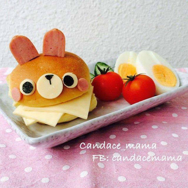 Rabbit sandwich