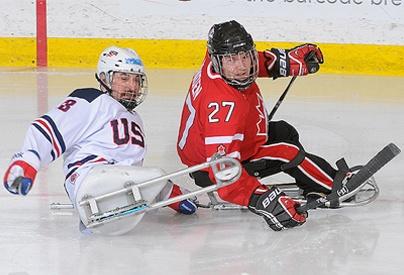 Brad Bowden - Ice Sledge Hockey