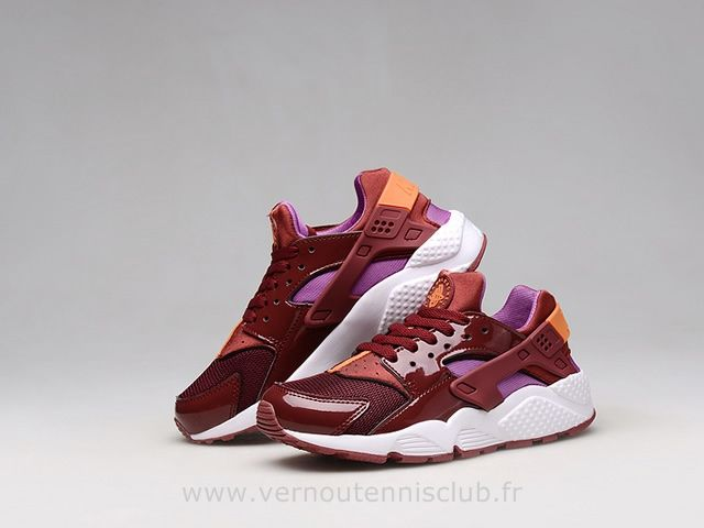 2015 Nike Air Huarache Rouge Complet