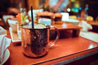 Moscow Mule at Red Square