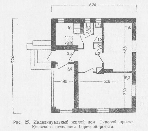 Планировка индивидуального жилого дома, типовой проект