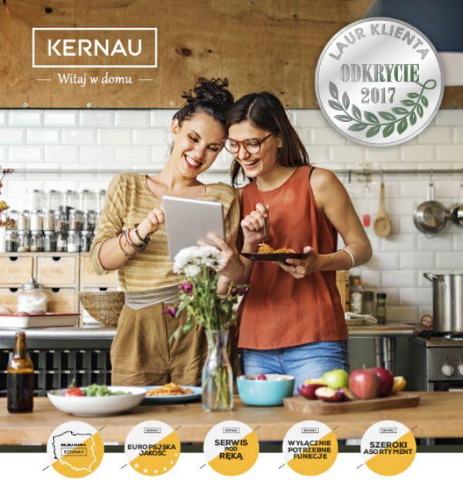 Marka #Kernau została wyróżniona w jednym z najważniejszych i najbardziej opiniotwórczych plebiscytów w Polsce - Laur Konsumenta, otrzymując tytuł ODKRYCIA ROKU 2017. 👏👏👏  Prestiżowe nagrody to najlepszy dowód na to, że produkty są dostrzegane i doceniane przez naszych klientów. Co więcej, jesteśmy jedyną marką w kategorii AGD i RTV, która w 2017 roku została odznaczona Laurem Klienta jako Odkrycie Roku!