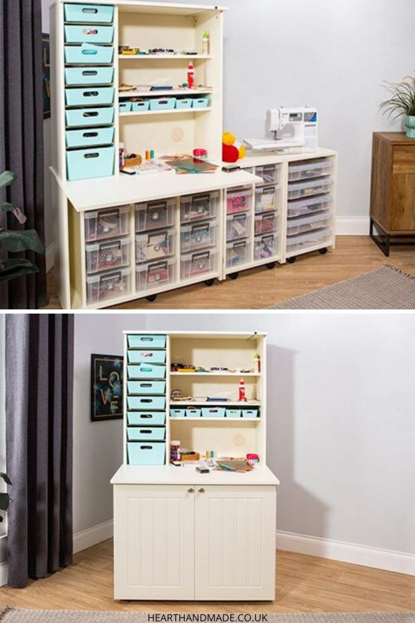Pin By Darlene Dunn On For Sewing And Crafts Storage Craft Storage Cabinets Craft Storage Drawers Craft Storage