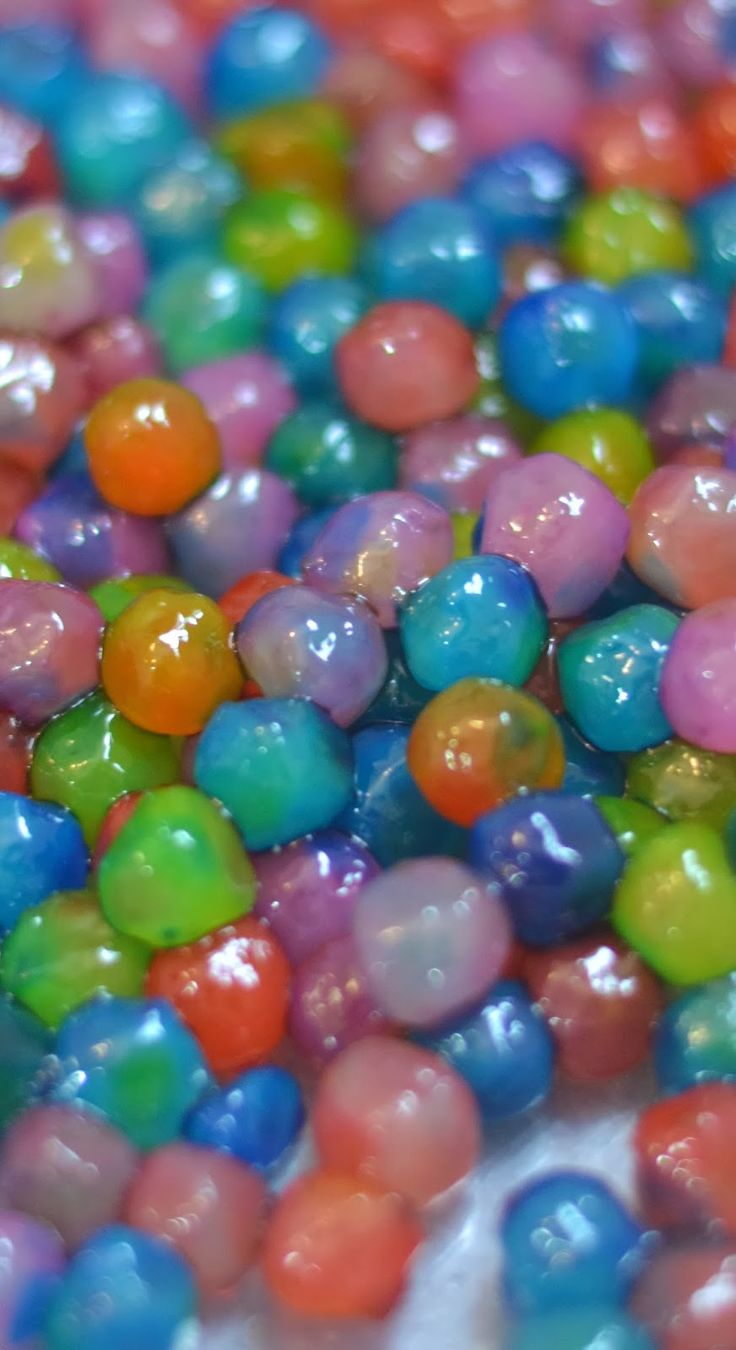 Edible water beads; a safer alternative to traditional water bead play