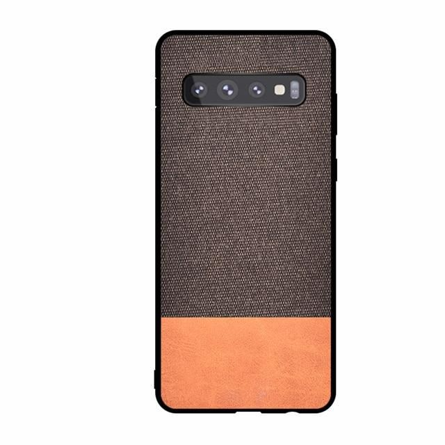 Textured Fabric Cloth Phone Case For Samsung Galaxy S10