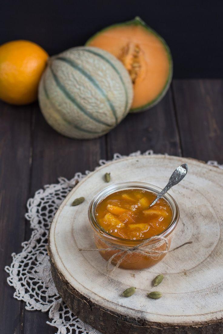 Melounovo-pomerančový džem s kardamomem