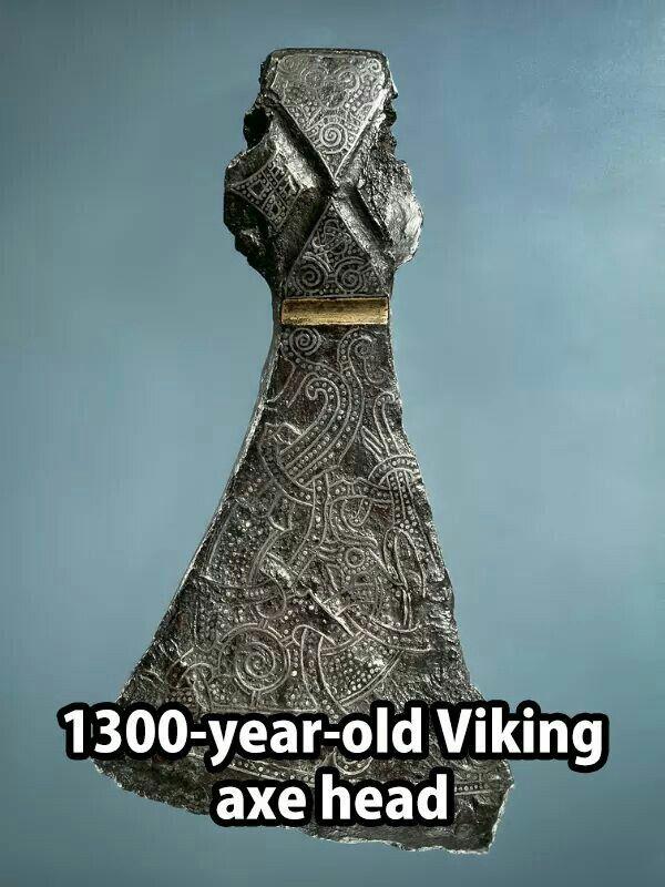 Viking axe head