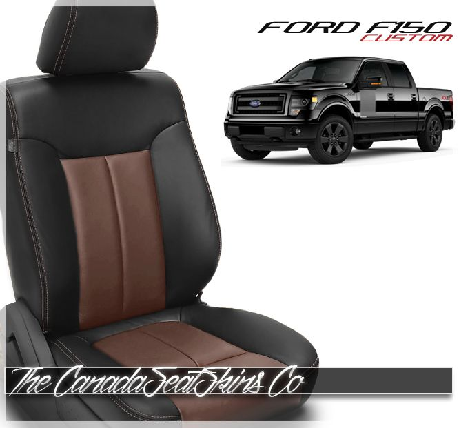 2009 2014 Ford F150 Custom Leather Upholstery In 2020 With