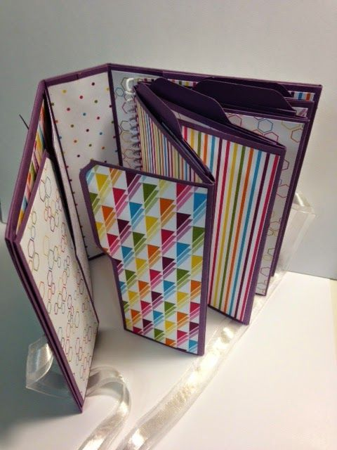 My Creative Corner!: Envelope Punch Board File Folder Album Weekend Project