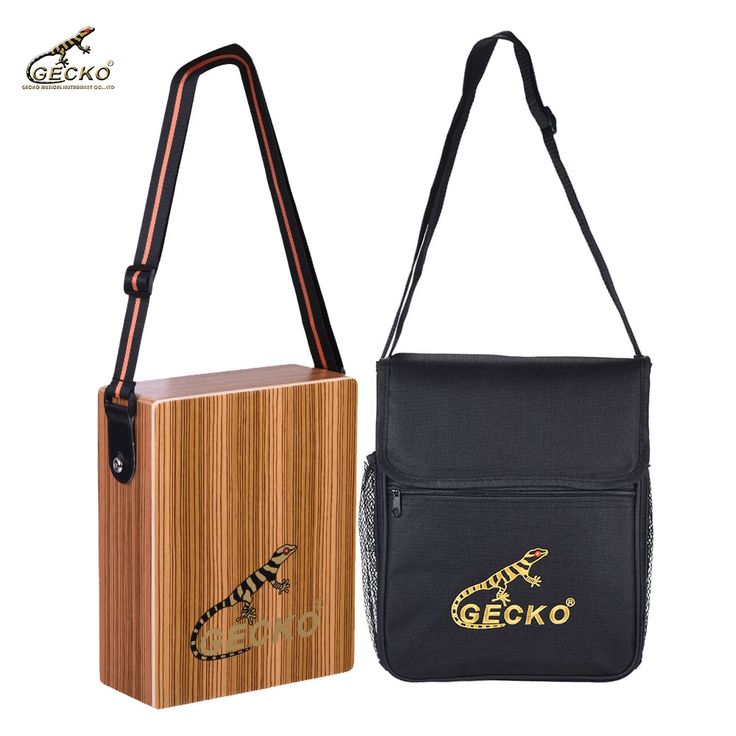 GECKO C-68Z Portable Traveling Cajon Box Drum Hand Drum Zebra Sales Online natural wood - Tomtop.com