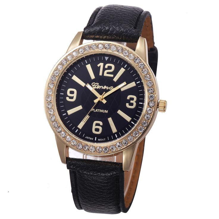 $1.86 (Buy here: https://alitems.com/g/1e8d114494ebda23ff8b16525dc3e8/?i=5&ulp=https%3A%2F%2Fwww.aliexpress.com%2Fitem%2FLadies-Wrist-Watch-Women-Fashion-Leather-Diamond-Dial-Analog-Quartz-Watches-Mens-Geneva-Watch-Clock-Women%2F32770151100.html ) Ladies Wrist Watch Women Fashion Leather Diamond Dial Analog Quartz Watches Mens Geneva Watch Clock Women Reloj Mujer Montre #YL for just $1.86