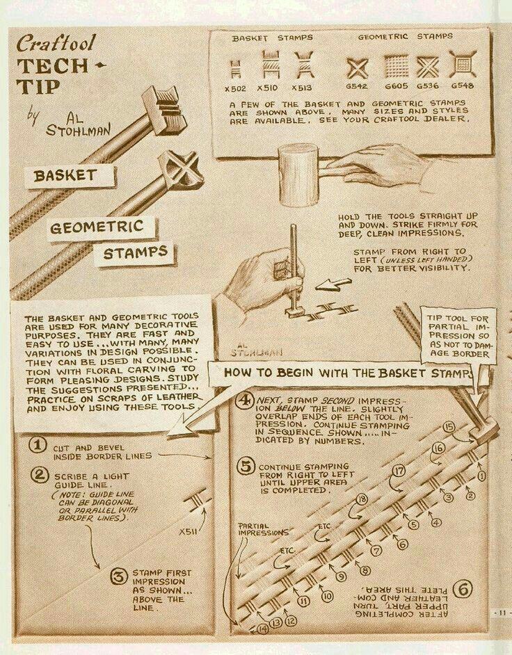 De bedste idéer til leather tooling patterns på