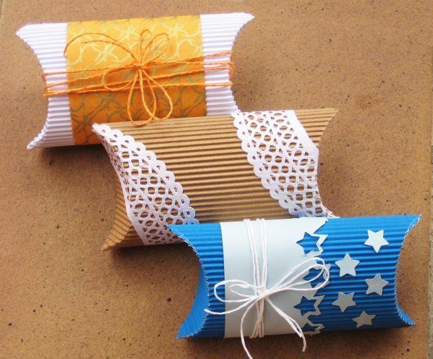 Cardboard boxes. Tutorial - Preciosas cajitas de cartulina.